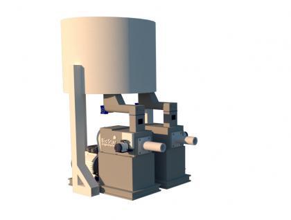 Пресс шнековый на 3000-4000 кг час