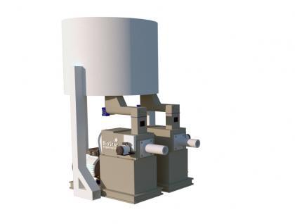 Пресс шнековый 1500-2000 кг час